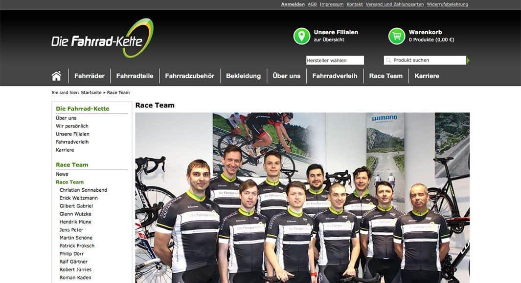http://die-fahrrad-kette.de/Race-Team