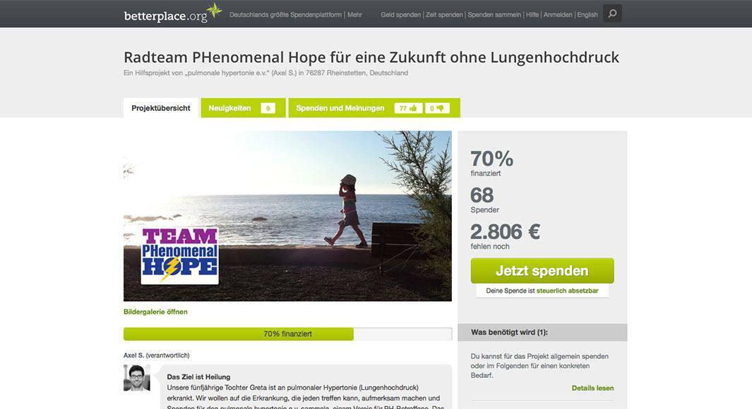 https://www.betterplace.org/de/projects/40534-radteam-phenomenal-hope-fur-eine-zukunft-ohne-lungenhochdruck