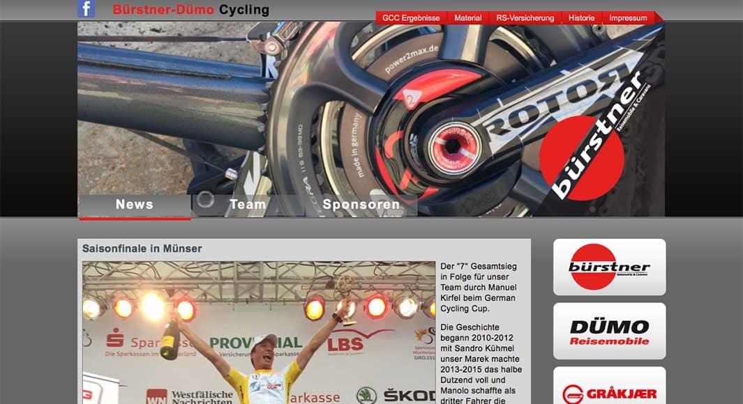 http://www.buerstner-duemo-cycling.de