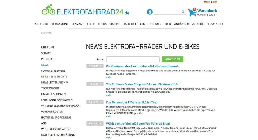 https://www.elektrofahrrad24.de/news.htm