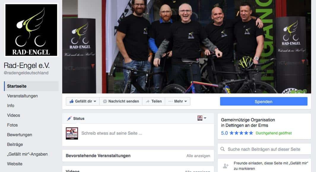 https://www.facebook.com/radengeldeutschland/